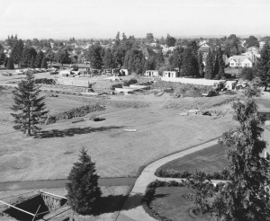 Shipstad Hall Construction, September 1966 (University Archives photo)