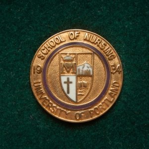University of Portland School of Nursing pin, c.1997