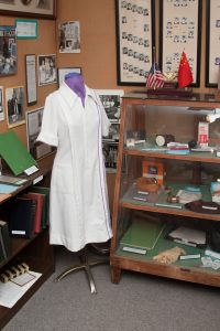 Nursing memorabilia section of the Museum