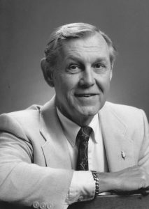 Dr. James Covert, 1994 (University Archives)