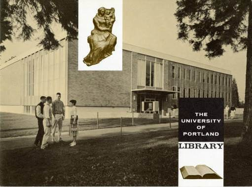 University of Portland Library Dedication Book, November 30, 1958 (University Archives)