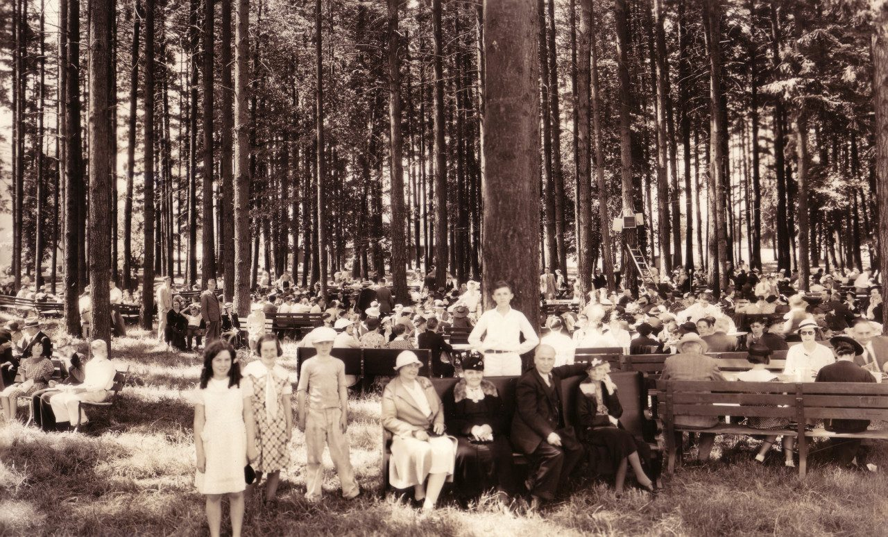 Campus Picnic from 1934
