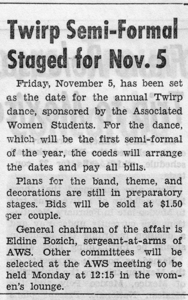 Article about Twirp Dance