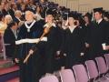 Dr. Thom Faller, marshal, 1997 graduation