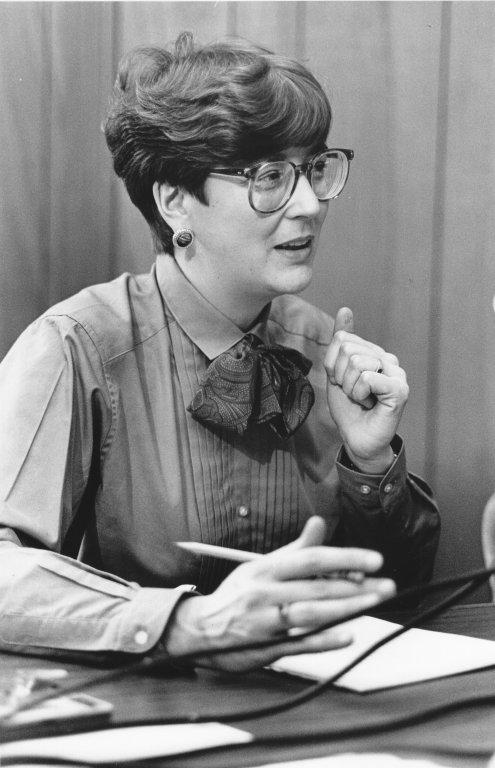Dr. Susan Decker, 1986