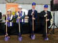 Groundbreaking for Dundon-Berchtold Hall, 2017