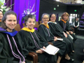 Frances Simmons with School of Nursing Faculty, Commencement 2016
