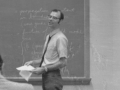 Dr. Robert Albright in the classroom, date unknown