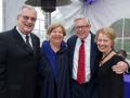 John & Jackie Goldrick; Robin & Jean Anderson, Heroes Among Us Gala, 2014