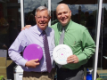 TeachToss-BizFrz Frisbee Challenge, Dean Robin Anderson and Dean John Watzke, 2012