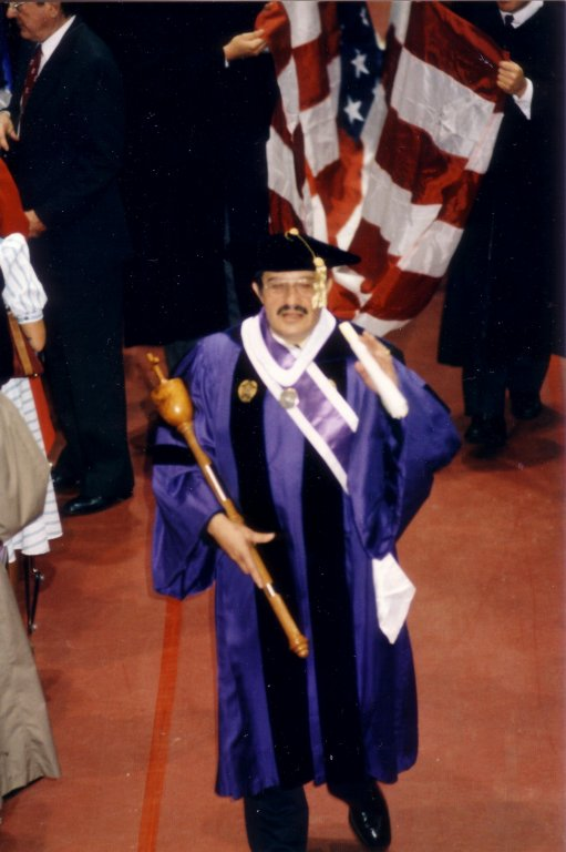 Dr. Manuel Macias, ca1990 (University Archives)