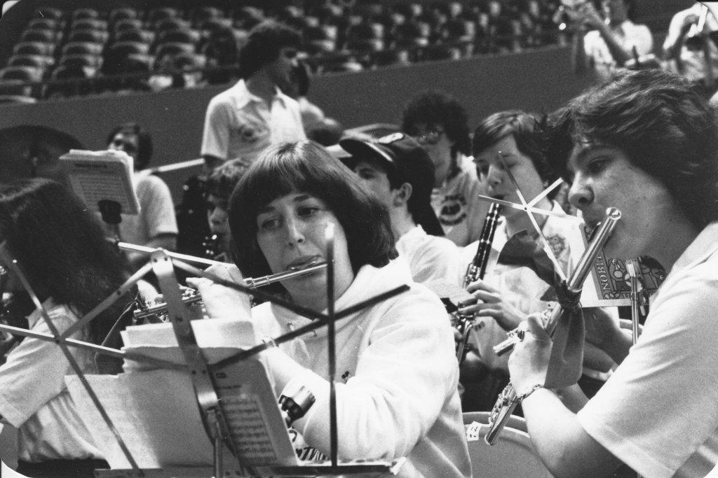 Pilot Pep Band, ca1980