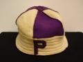 Purple P beanie