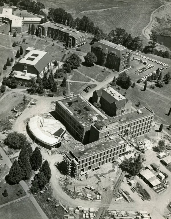 Aerial View of Buckley Center, 1968