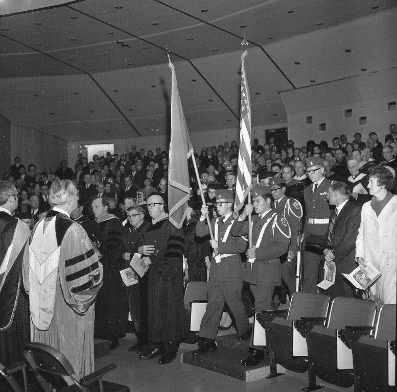 Buckley Center Dedication, Feb 7, 1969