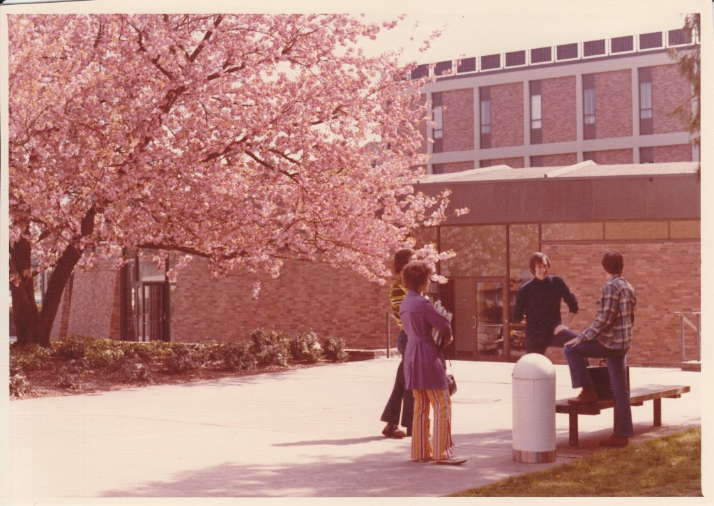 Buckley Center Walkway, ca1977