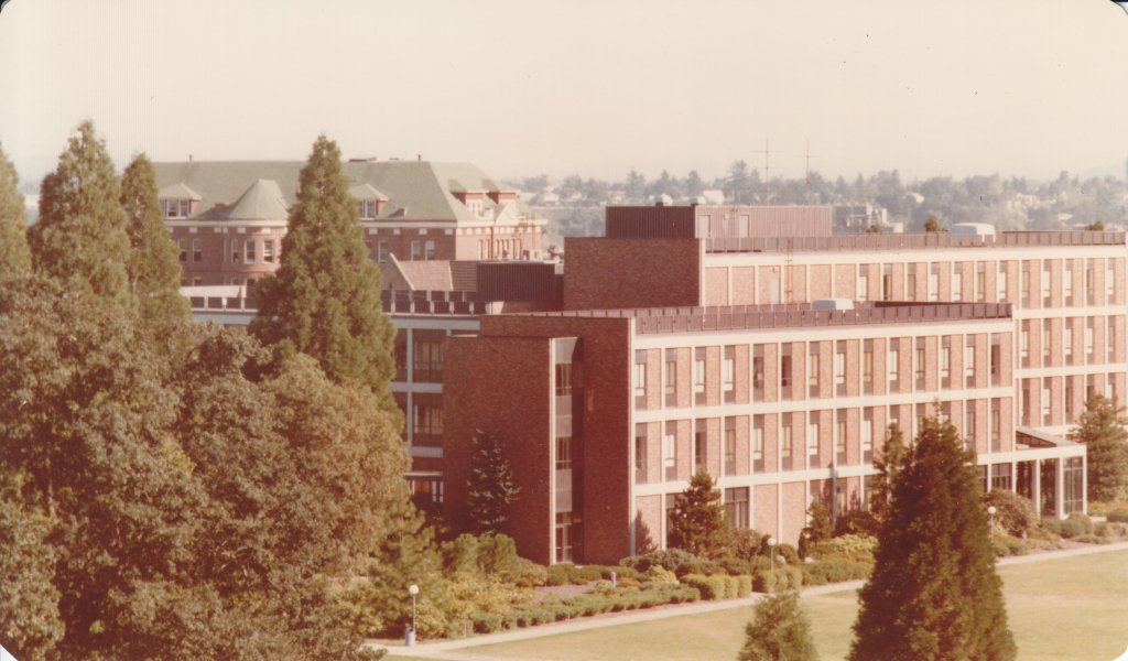 Northwest Corner of Buckley Center, 1980