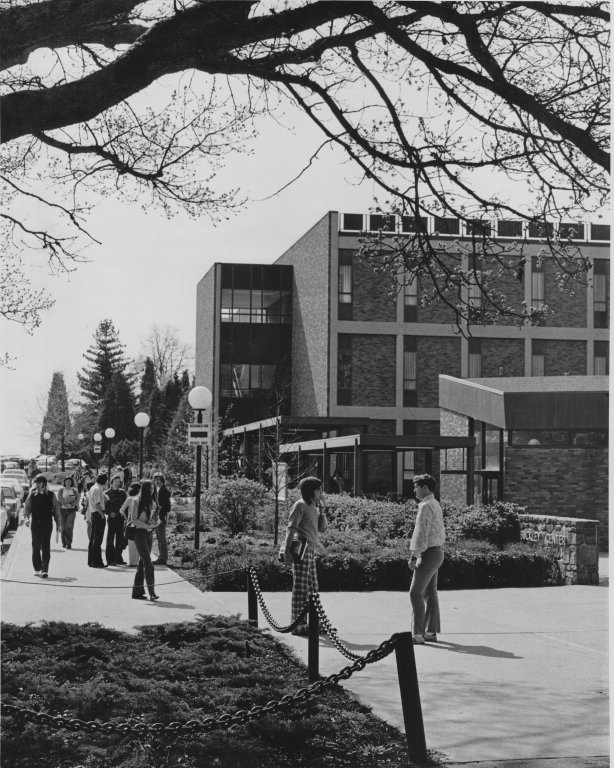 Buckley Center Sidewalk, 1973