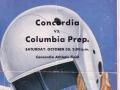 Columbia Prep vs Concordia Football Program, 1954