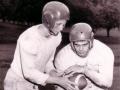 Bob Allen, Ted Parent, Columbia Prep Football, 1954