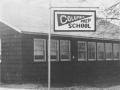 Columbia Prep sign, 1947
