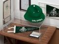 Columbia Prep memorabilia in the University Museum