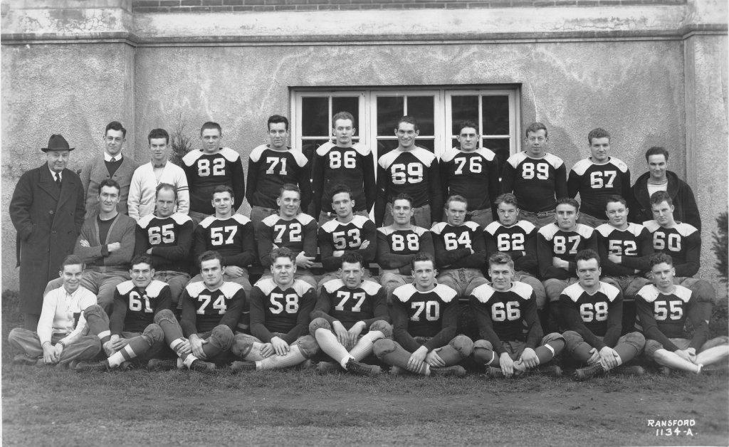 Football Team, 1937