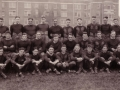 Columbia University Football Team in Front of Christie Hall, 1921