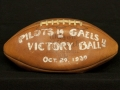 Game football from the Pilots Victory over Nationally Ranked St. Mary's Gaels, October 29, 1939