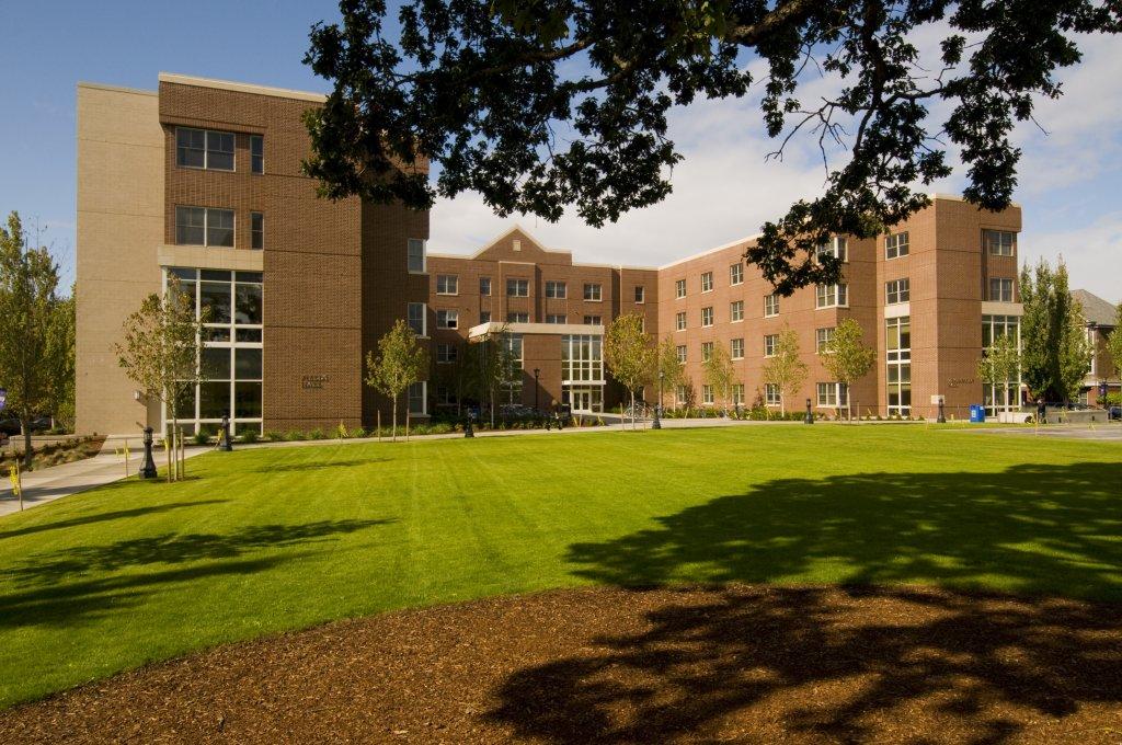 Fields & Schoenfeldt Halls, September 2009