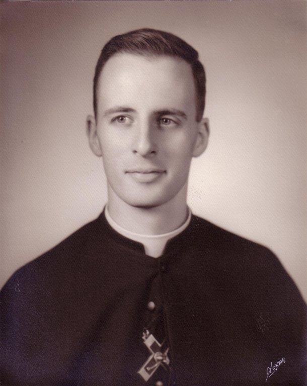 Rev. Arthur Schoenfeldt, C.S.C., Ordination, 1959
