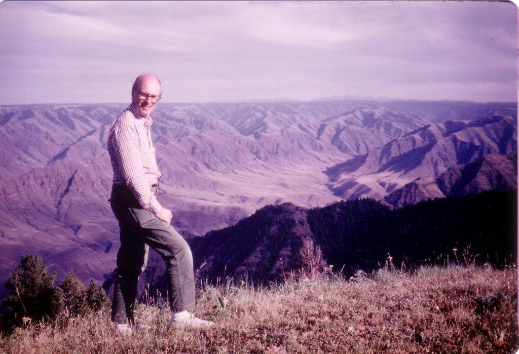 Fr. Art Schoenfeldt, Steens Mountain, 1983