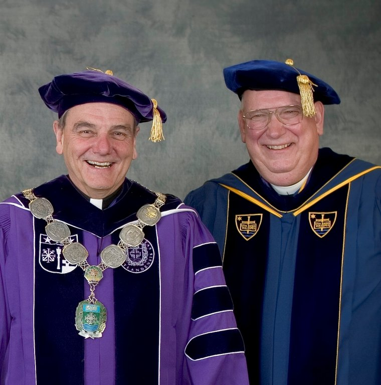 Rev. E. William Beauchamp and Bro. Donald Stabrowski, 2005