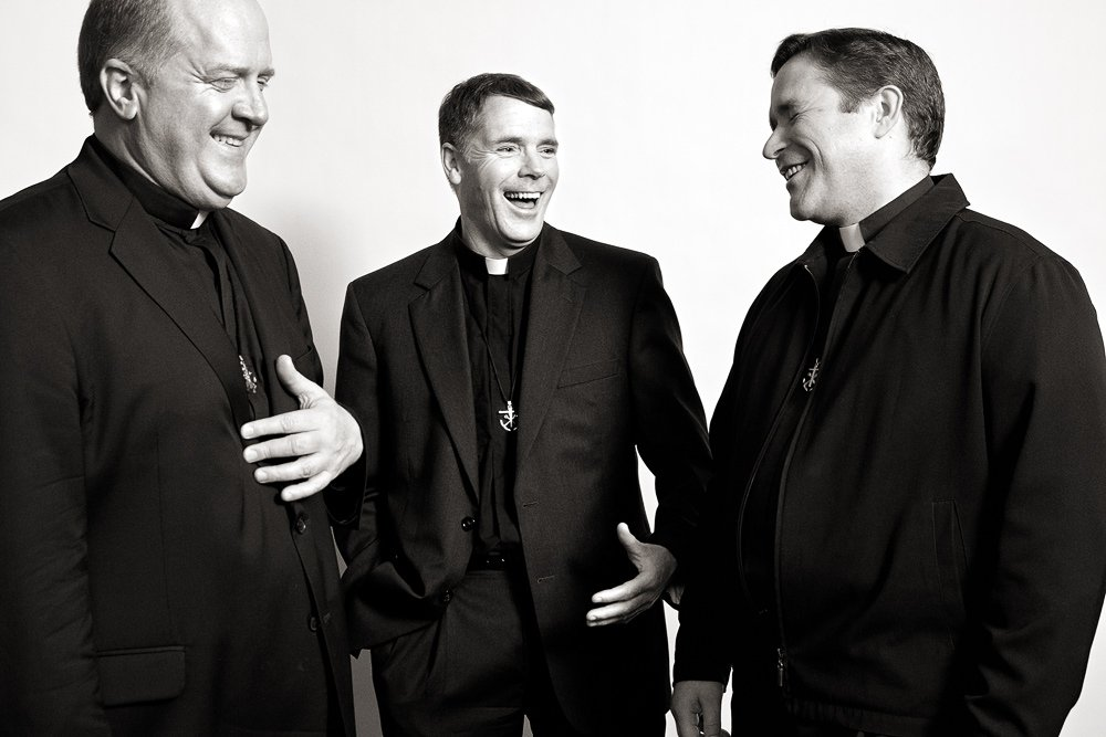 Rev. James Lies, Rev. Pat Hannon, Rev. Gary Chamberland, 2010