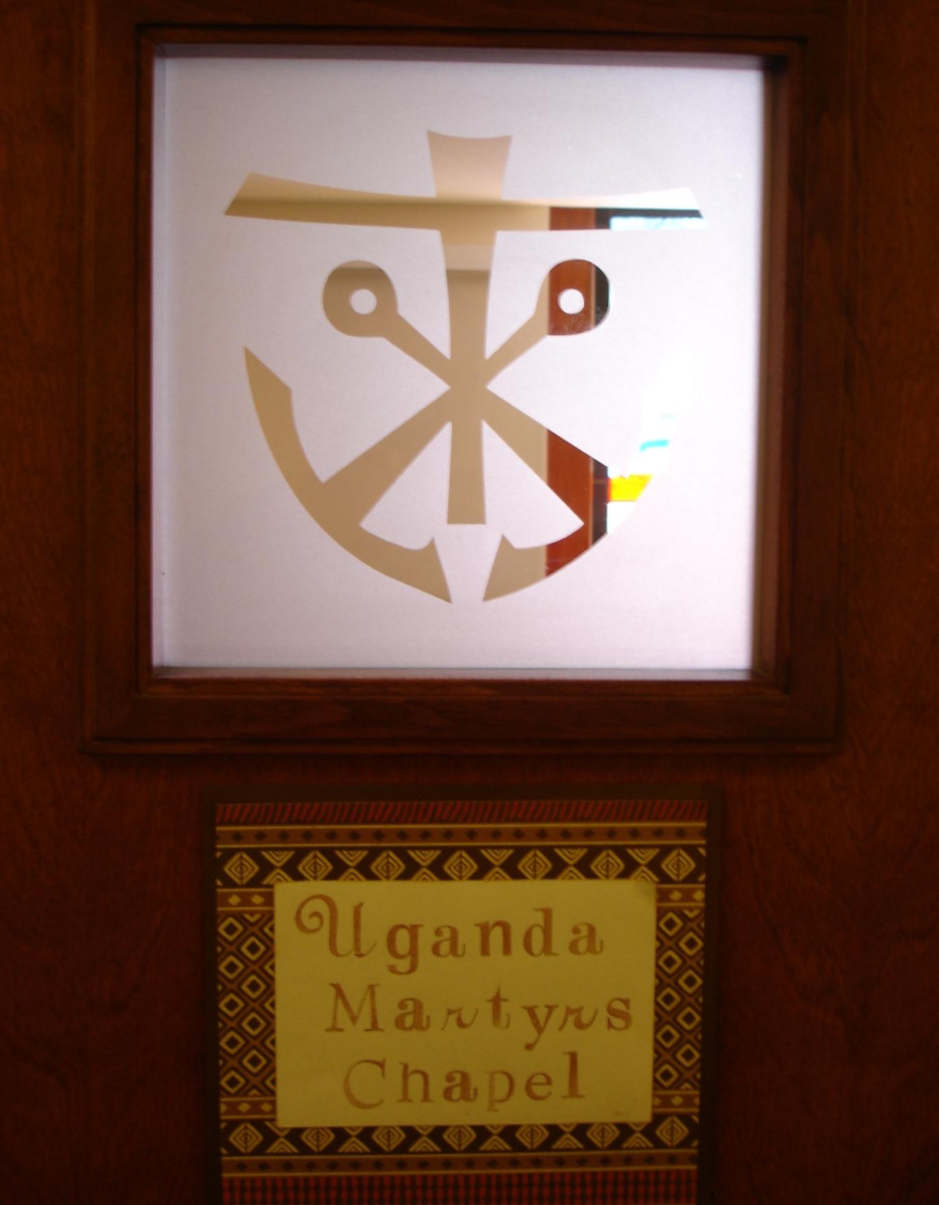 Shipstad Hall Chapel door