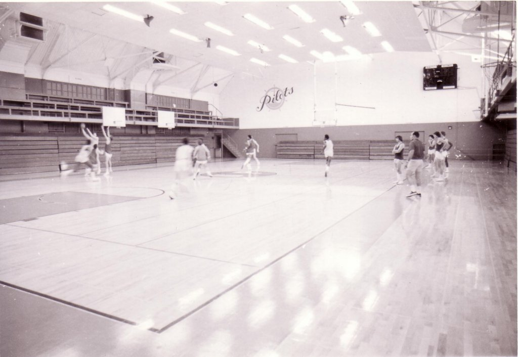 Howard Hall 1981 M8A bball court