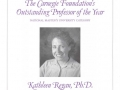Carnegie Foundation Outstanding Professor of the Year, 2000