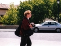 Dr. Kate Regan with camera Segovia, Spain, 2003
