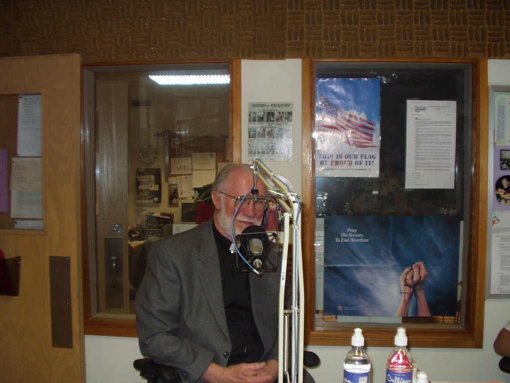 Fr. Jim Connelly Speaks about Catholic History on KBVM, April 2004