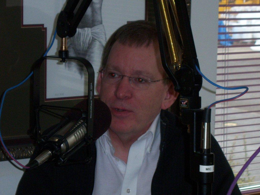 Fr. Ron Raab, C.S.C., KBVM Spring Sharathon, 2011