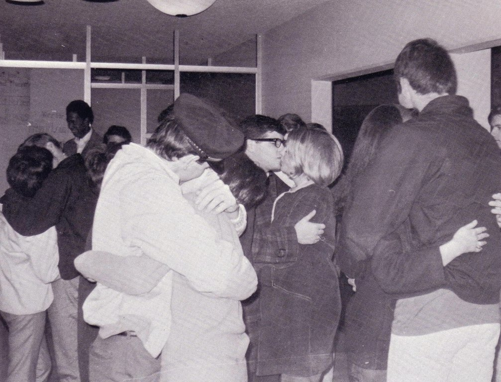 1:29 a.m., Mehling Hall, 1968