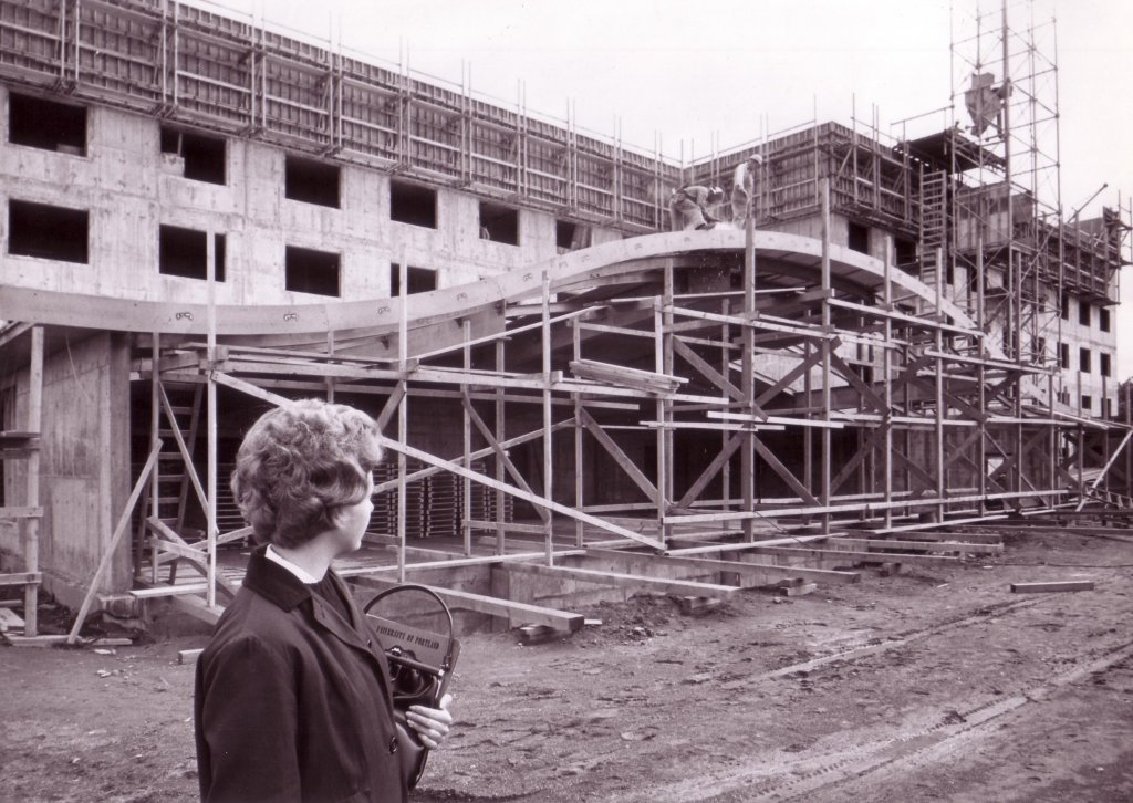 Mehling Hall Construction, 1963