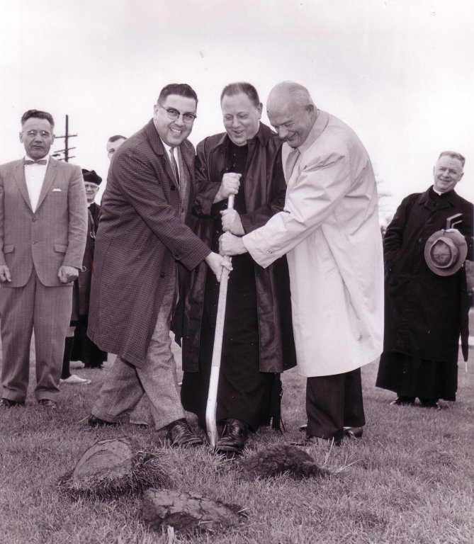 Mehling Hall Groundbreaking, May 1963