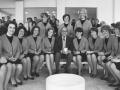 Jack Benny with Sigma Beta Phi members, November 1964