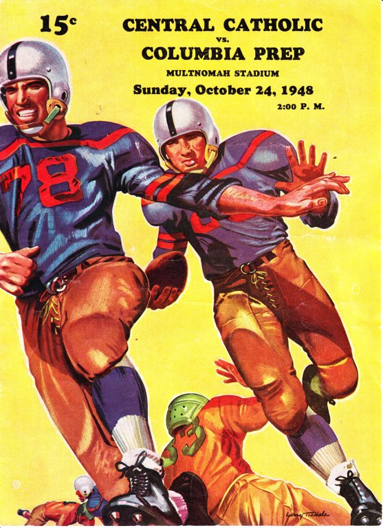 Central Catholic v Columbia Prep, October 24, 1948