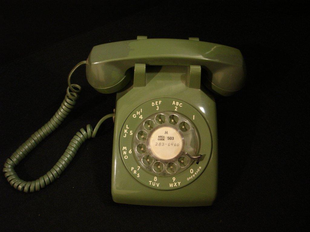 Rotary Phone, ca1983