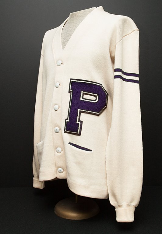 Joe Etzel's University of Portland Letterman's Sweater, 1960.