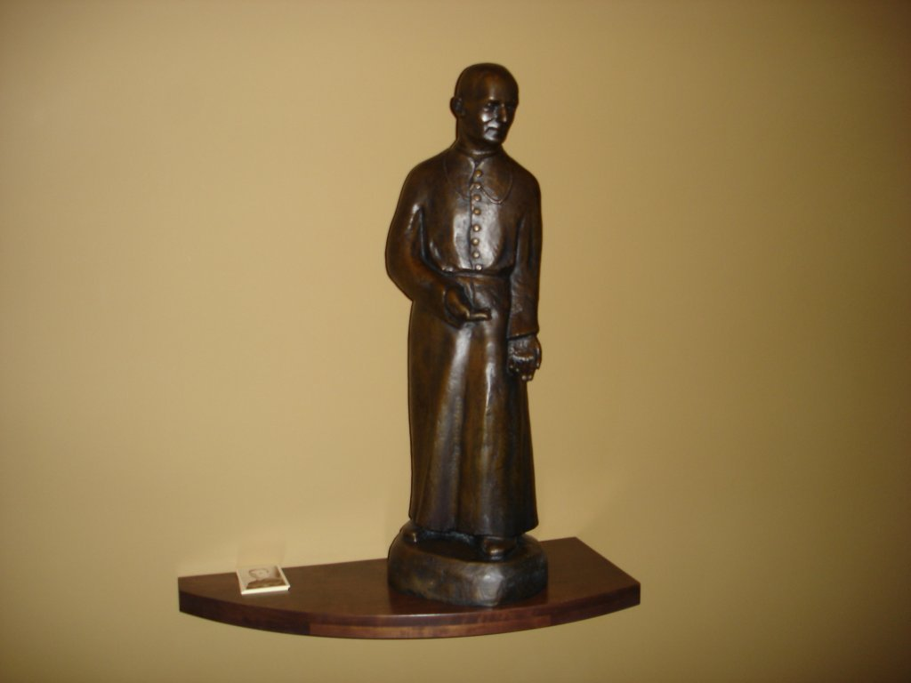 Brother Andre Statue in Tyson Hall Chapel