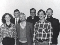 Dr. Gina Hens-Piazza, Fr. Tom Hosinski, Dr. Russell Butkus, Fr. Jeffrey Sobosan, Dr. Jeff Staley, Fr. Richard Rutherford, 1986