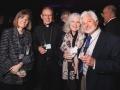 Linda Fergusson-Kolmes, Fr. Tom Hosinski, C.S.C., Lynn Butkus, Dr. Russell Butkus, Fr. Mark Poorman Inauguration Dinner,  2014